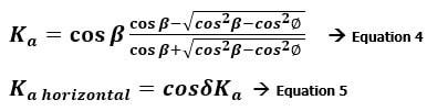 rankine-lateral-earth-pressure-formula