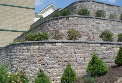 Segmental Retaining Wall Design Calculations : Geogrid segmental retaining wall design with calculations
