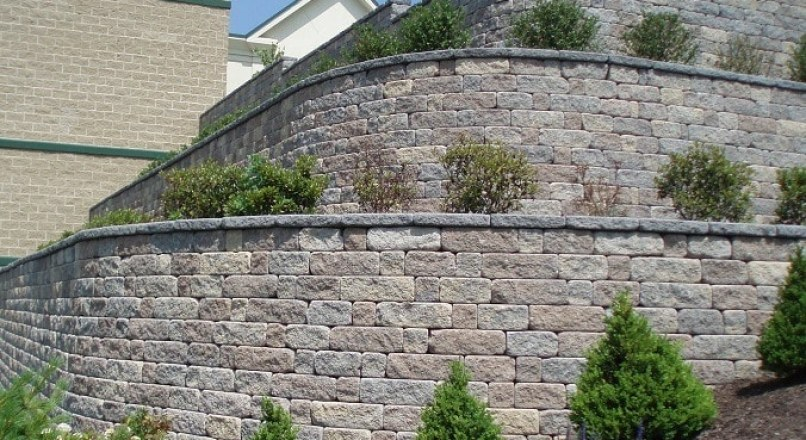 Design of Geogrid Segmental Retaining Wall with Calculations