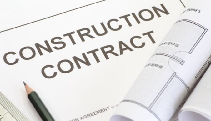 Types of construction contracts and their comparison for Cost plus a fee contract form for homebuilding