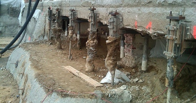 Underpinning Methods, Procedure and Applications for foundation Strengthening