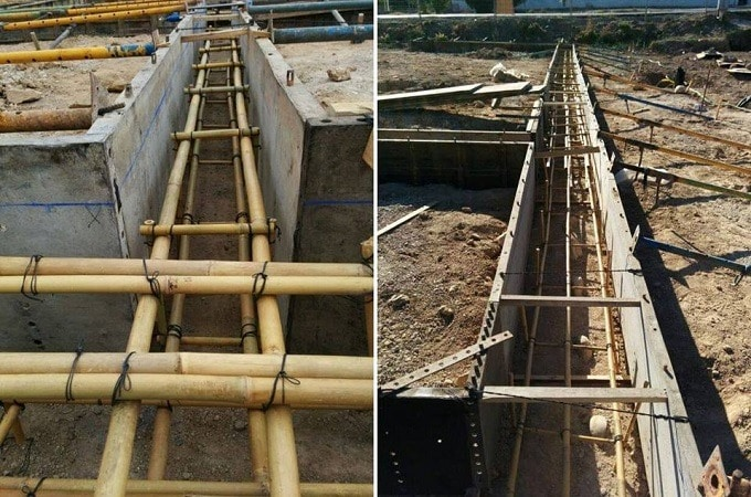 Bamboo Reinforced Concrete Construction