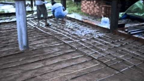 Bamboo Reinforced Concrete in Slab