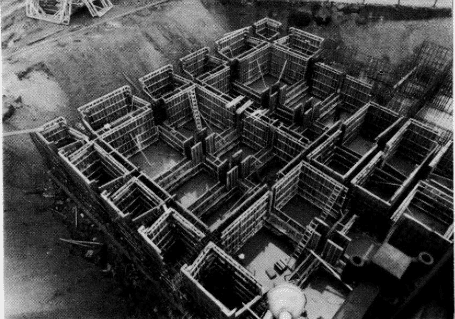 Construction of a Buoyancy Raft or Hollow Raft Foundation
