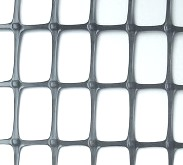 A Geogrid manufactured from the method of extrusion