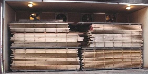 Kiln Seasoning of Timber