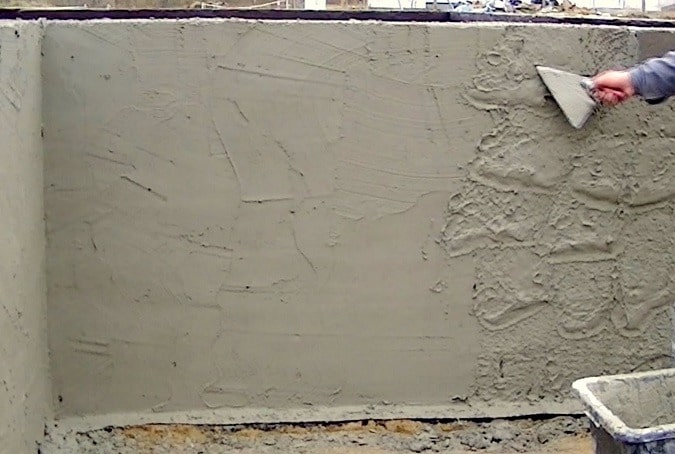 Types Of Plaster : Types of plaster finishes and external rendering for buildings
