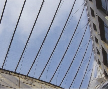 View of ETFE in Buildings