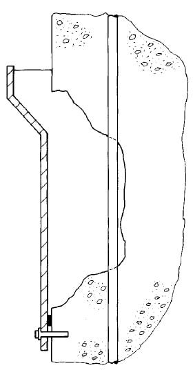 Birds-Mouth Type Formwork for Surface Spalling Repair