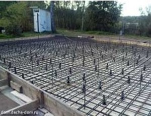 Reinforcement in Floating Slab