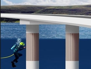 Inspection of Underwater Concrete Structure