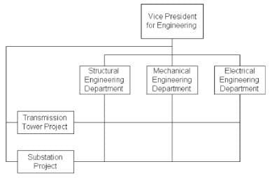 Representation of a Matric Organization