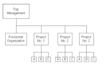 Representation of Project Oriented Organization
