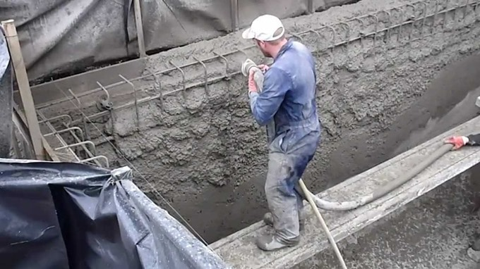 Concrete Pool Construction : Sprayed concrete properties materials and applications