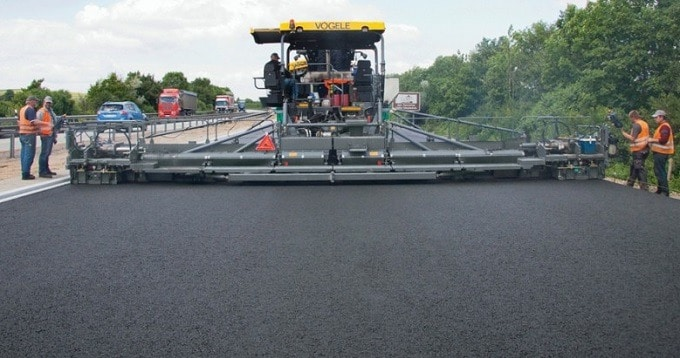 types of bitumen mixes for pavements