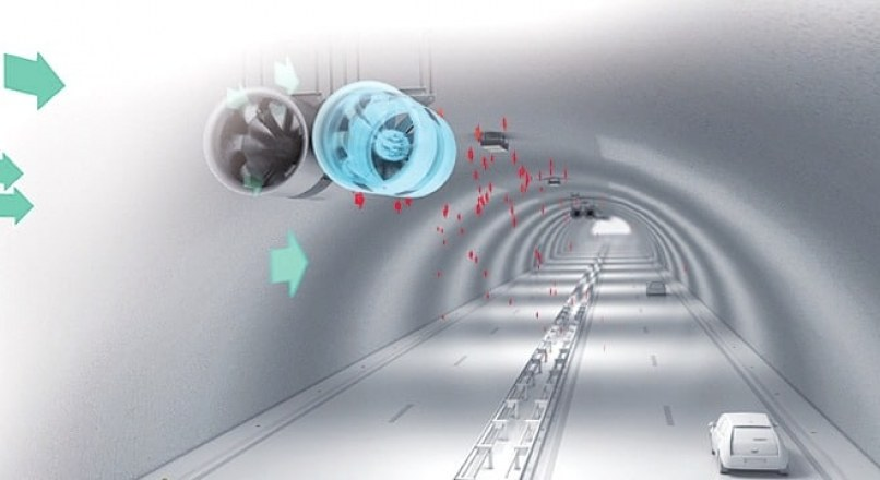 Ventilation in Tunnels- Types of Ventilation Systems in Tunnel