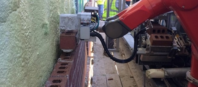 Automated Brick Masonry Laying Robot