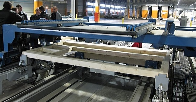 Automated Machine for Fabrication of Wood Frames