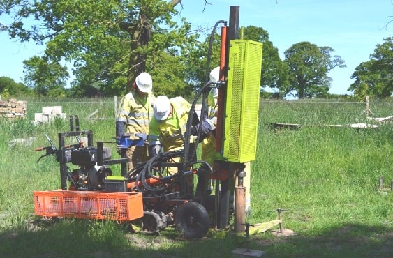 Borehole Sampling for Geotechnical Report