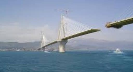 Cable Stayed Bridge Under Construction