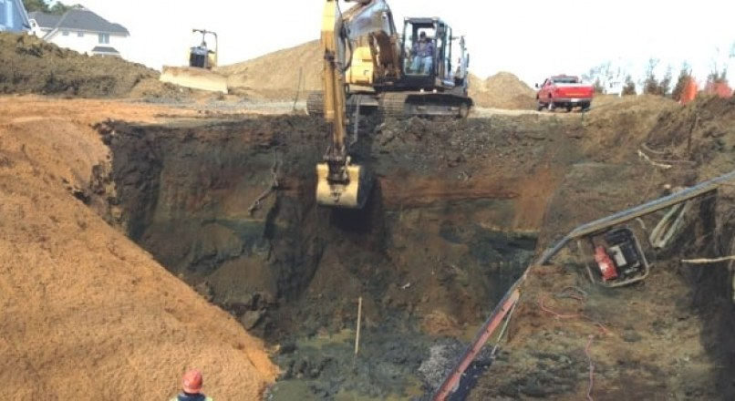 Steps in Preparing Site for Construction Projects -Soil Report, Excavation etc.