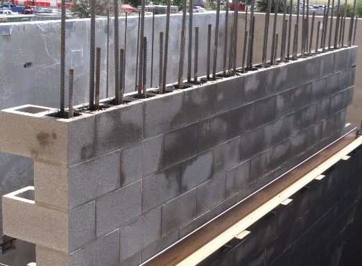 Masonry Reinforcement And Accessory Metals For Wall