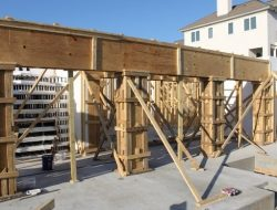 Wooden Concrete Formwork Design Criteria with Calculation Formulas