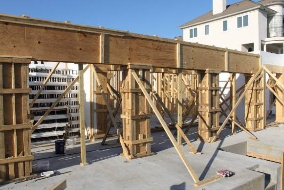 Design Of Concrete Wall Formwork : Wooden formwork design criteria with calculation formulas