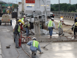 Overlay Concrete for Crack Repair in Concrete Structures
