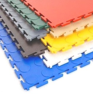 Plastic Flooring Tiles