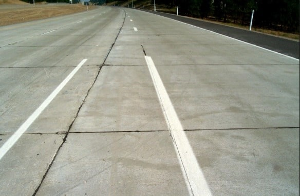 Jointed Reinforced Concrete Pavement