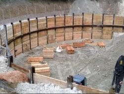 Types of Excavation Supports or Earth Retaining Structures and their Applications