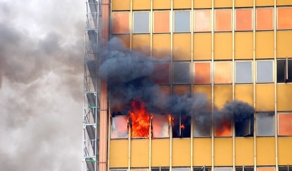 Fire and Safety Features of High-Rise Buildings and Structures