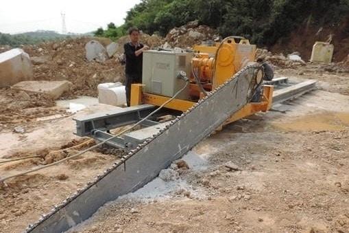 Machine Quarrying of Stones