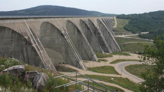 Multiple Arch Buttress Dam