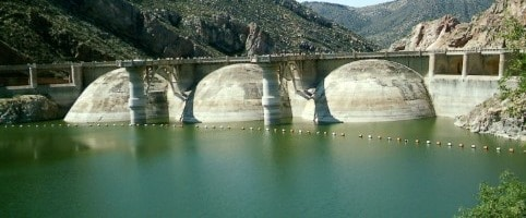 Multiple Dome Buttress Dam