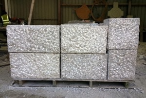 Punched Finish for Stones