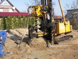 Uncased Cast-in-Situ Concrete Piles – Types and Uses