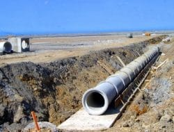 Direct Design of Concrete Pipes for Sewer Sanitary