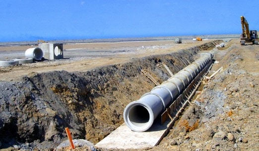 Reinforced Concrete Sewer Pipe