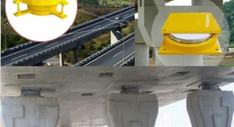 Bridge Bearings -Types of Bearings for Bridge Structures and Details