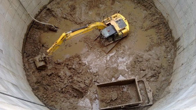 Methods of Ground Water Control in Excavations