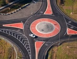 Rotary Intersection of Roads and its Design Factors