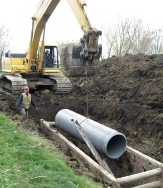 Handling of Sanitary Sewer Pipes