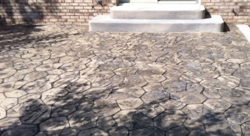 What is Stamped Concrete? Features, Methods of Stamping Concrete