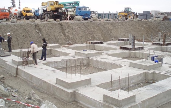Image result for foundation for building