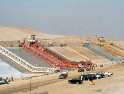 Types of Canal Construction Machineries and their Selection