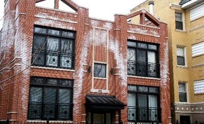 Efflorescence on brick masonry wall