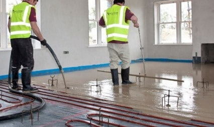 Floor Screed Construction