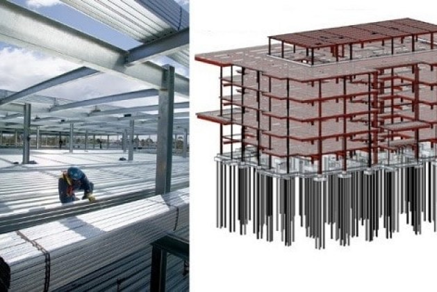 Types Of Floors For Multi Storey Steel Structure Construction